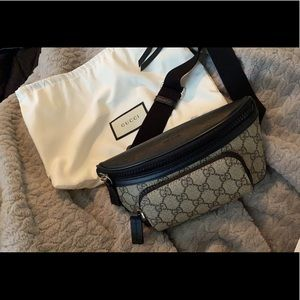 Authentic Gucci eden belt bag